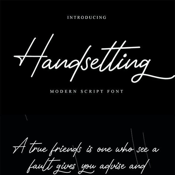Handsetting