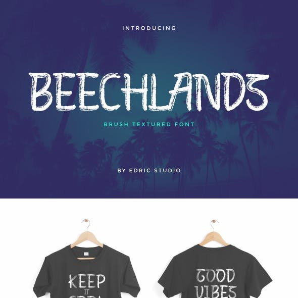Beechlands Brush Display Font