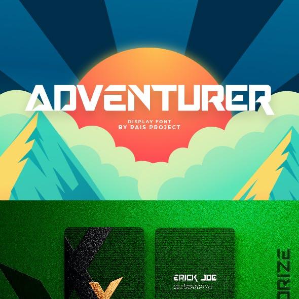Adventurer Display Font