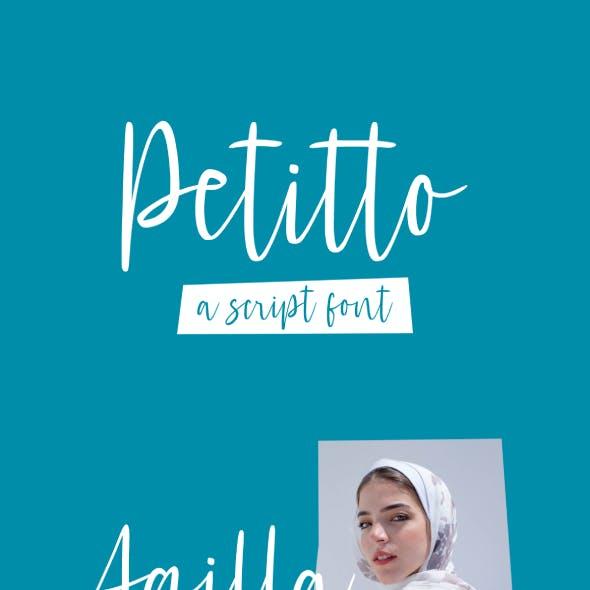 Petitto Font
