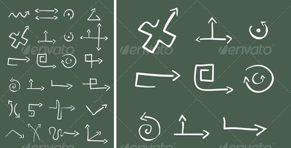 24 Arrows - Abstract Conceptual