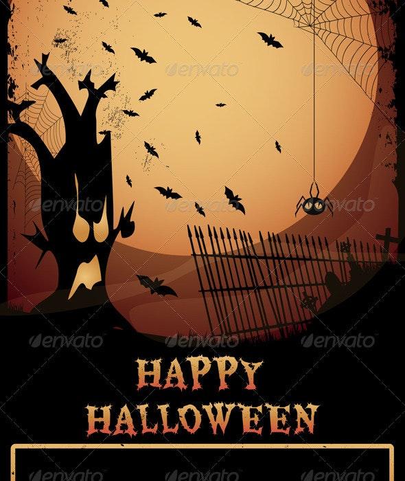 Halloween Haunted Tree - Halloween Seasons/Holidays