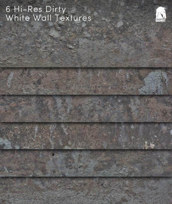 6 Hi-Res Close-Up Cement Textures - Concrete Textures