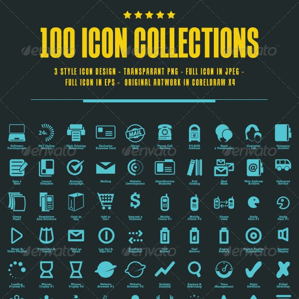 100 Icons Collections