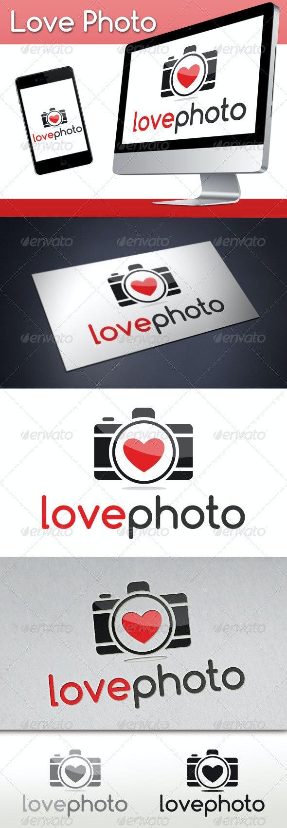 Photography Love Logo - Objects Logo Templates
