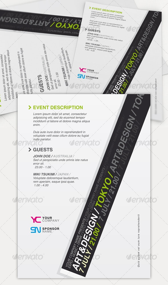 Get Minimal - Flyer 01 - Miscellaneous Events