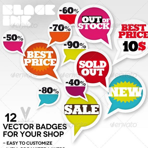 Offer Vector Badges