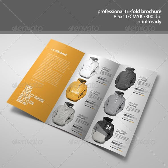Apparel Tri-Fold Brochure