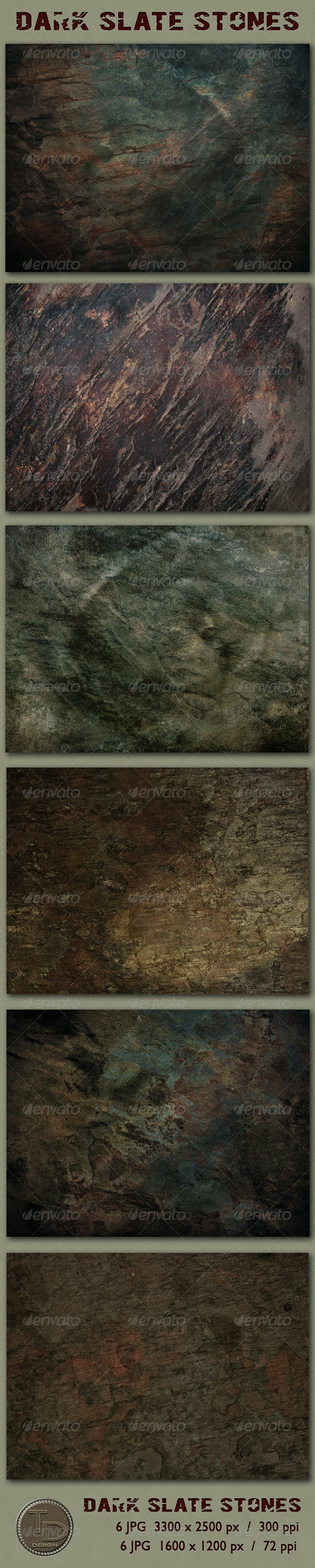 Dark Slate Stone Textures - Stone Textures