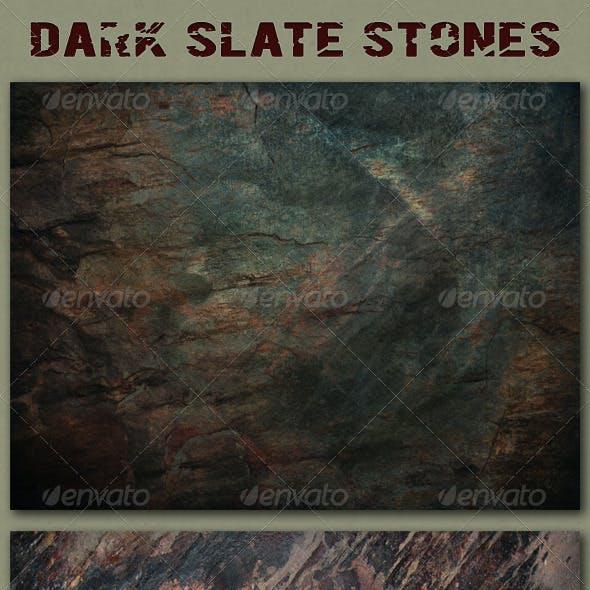 Dark Slate Stone Textures