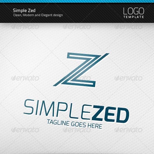 Simple Zed Logo