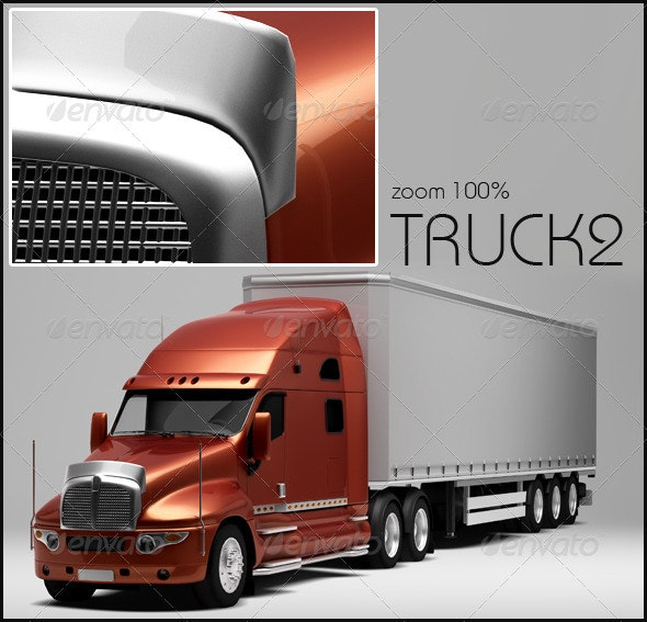 Truck 2 - 3D Renders Graphics
