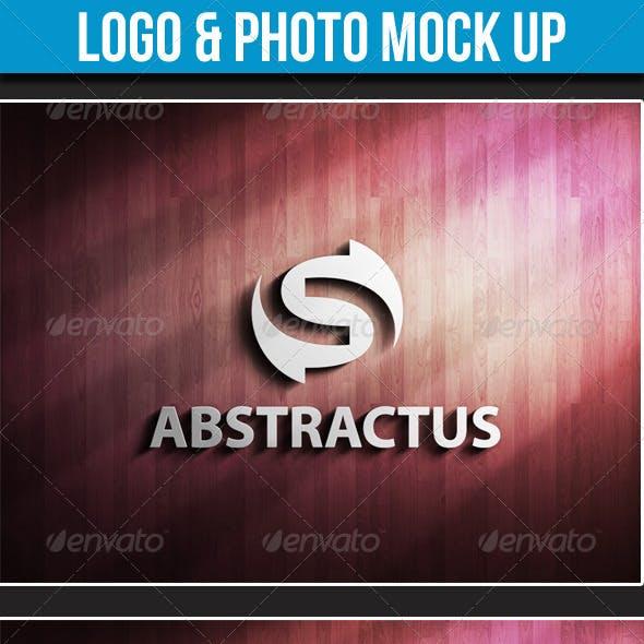 Logo & Photo Mock-up