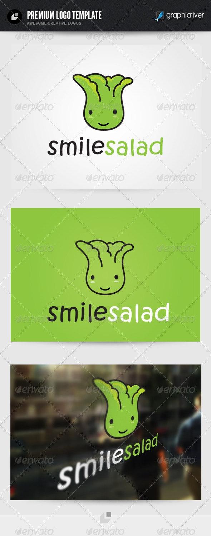Smile Salad Logo - Food Logo Templates