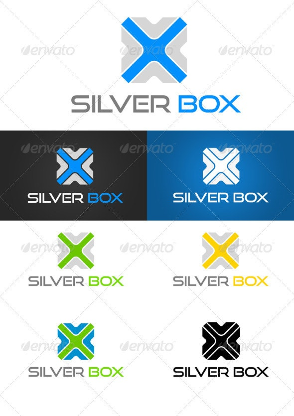 Silver Box - Objects Logo Templates