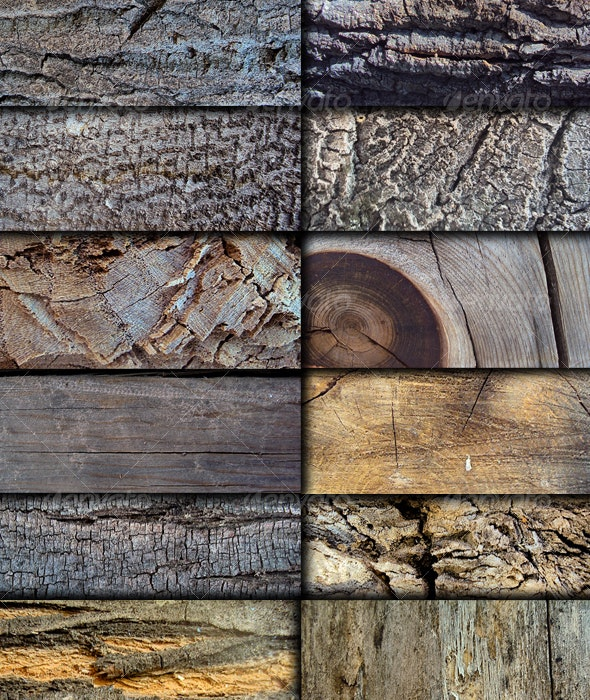 12 High Quality Wood Textures - Wood Textures