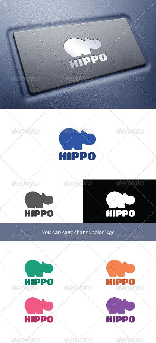 Hippo - Animals Logo Templates