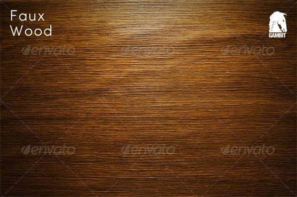 Faux Wood Background - Urban Backgrounds