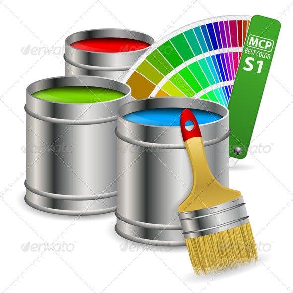 Paint Concept - Buildings Objects