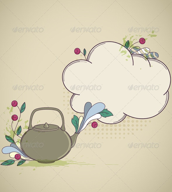 Tea Background - Food Objects