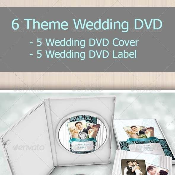 6 Theme Wedding Dvd