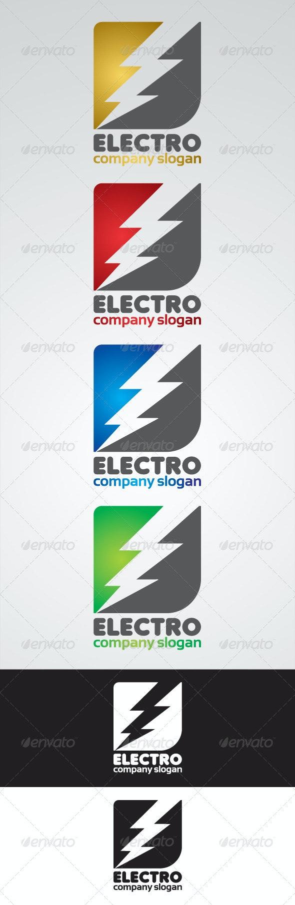 Electro Company Logo - Buildings Logo Templates
