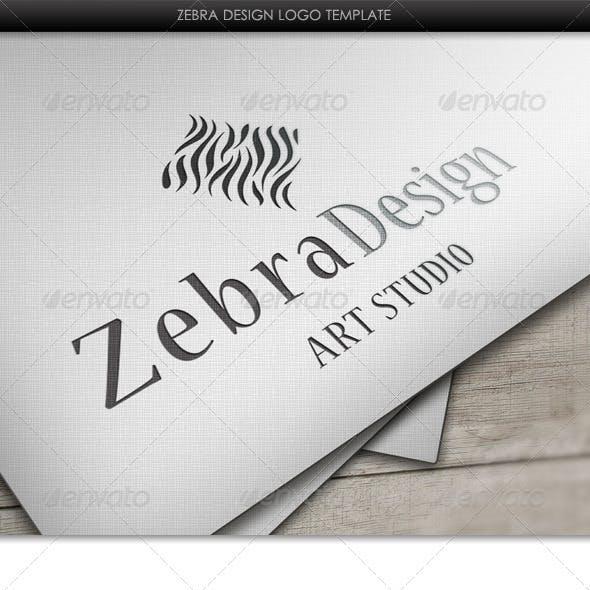 Zebra Design Logo Template