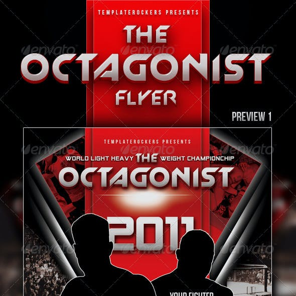 The Octagonist Flyer
