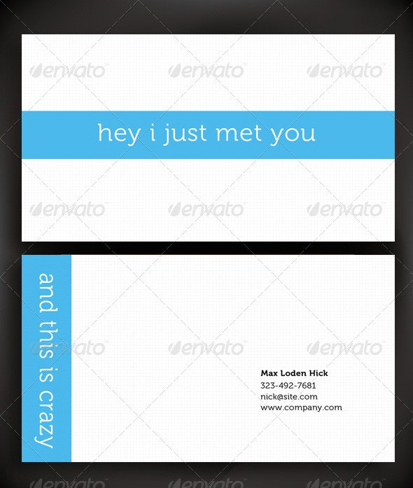 Simple Business Card Design - Creative Business Cards