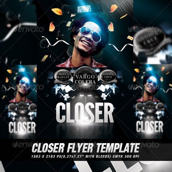 Closer Flyer/Poster Template