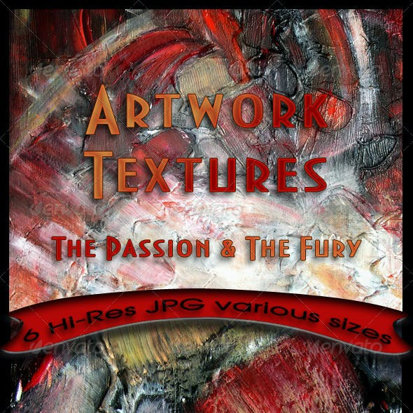 Handmade Textures - The Passion and The Fury