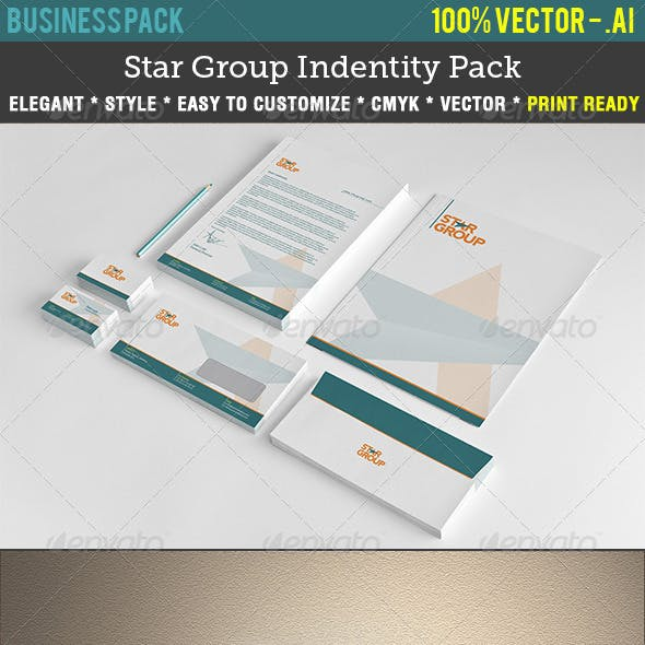 Star Group Indentity Pack