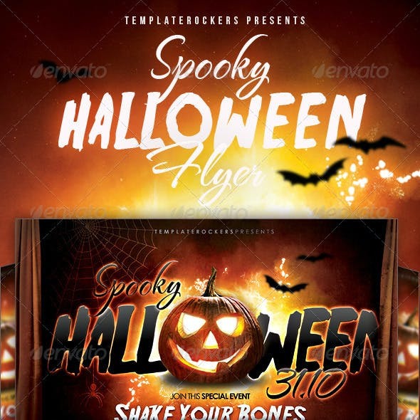 Spooky Halloween Flyer - 2 Sizes