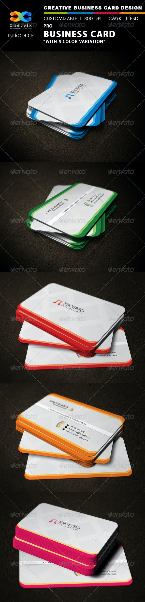 Pro Business Card - Corporate Business Cards