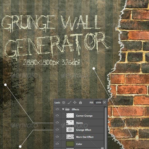 Grunge Wall Generator