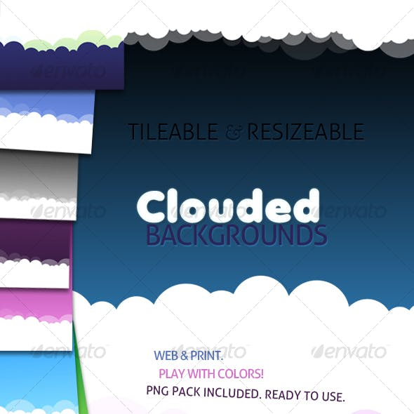 Tileable and Resizeable Clouded Backgrounds