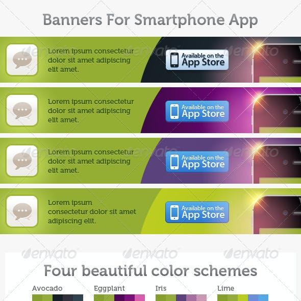 Smart Phone App Banner Pack