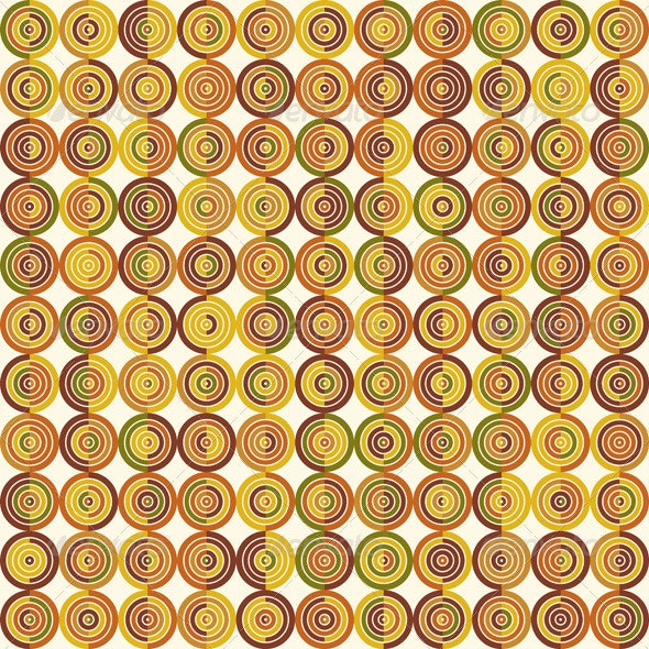 Abstract Vector Circle Background - Backgrounds Decorative