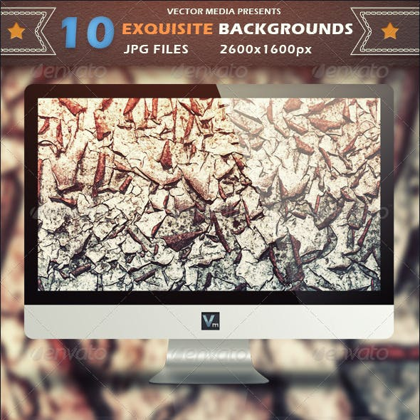 10 Exquisite - Backgrounds