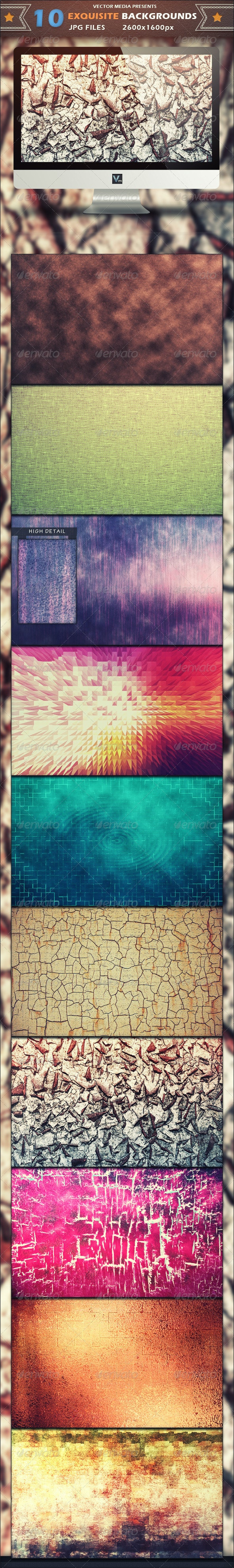 10 Exquisite - Backgrounds - Miscellaneous Backgrounds