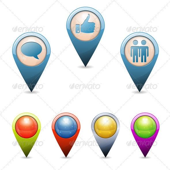 3D Pointers - Travel Conceptual