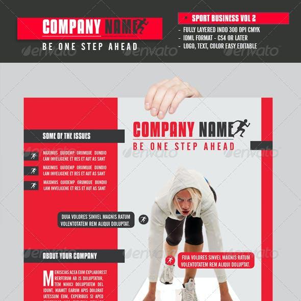 Sport Business Flyer Vol 2
