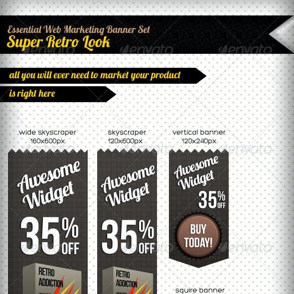 Retro Web Marketing Set
