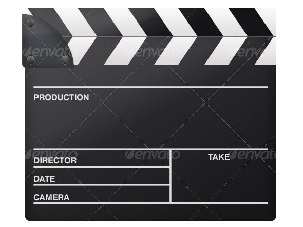 Clapperboard - Objects Illustrations