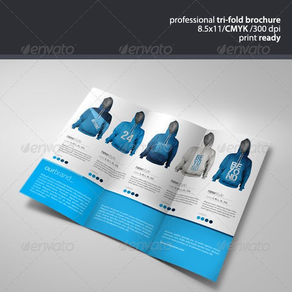 Apparel Tri-Fold Brochure 2