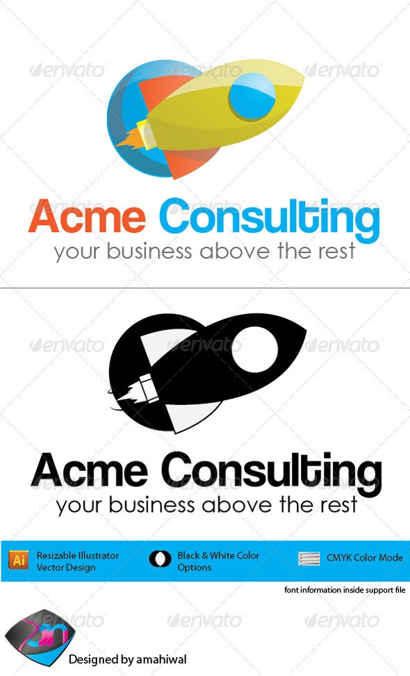 Acme Consulting Logo - Objects Logo Templates