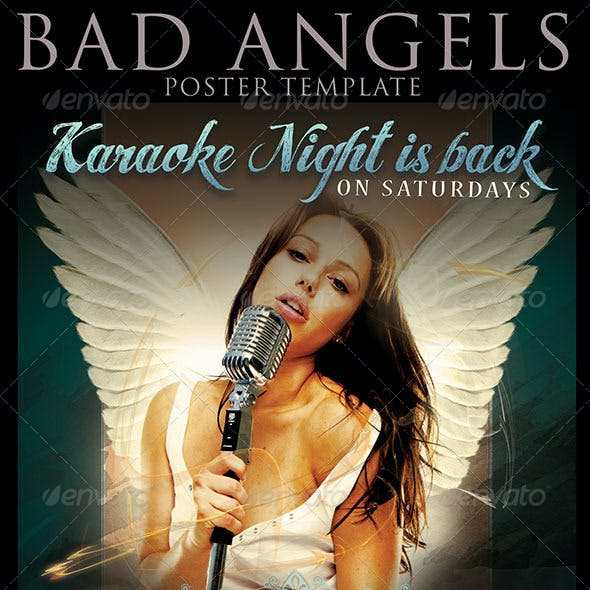 Bad Angel Poster