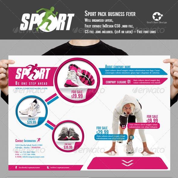 Sport Pack Business Folder