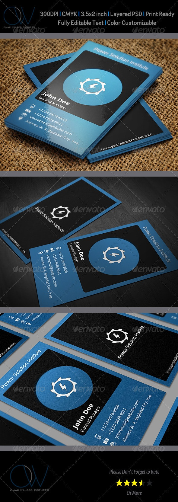 Classic Business Card Vol.3 - Corporate Business Cards