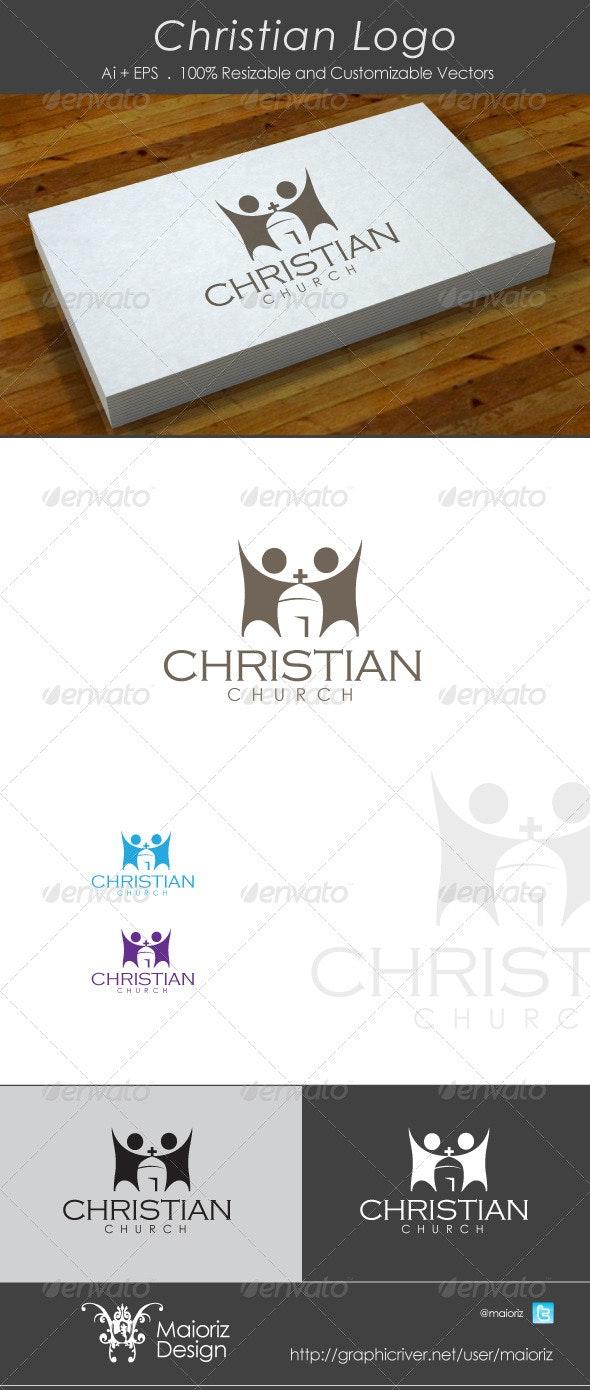 Christian Church Logo  - Buildings Logo Templates